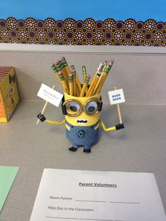 Minion in the classroom Minion Room, Minion Theme, Minion Classroom Ideas, Classroom Themes, New School Year, Back To School, Minions, Minion Stuff, Learning Support