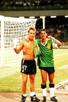 1990 World Cup Quarter Final: England vs Cameroon Photographic Print