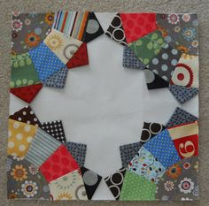 Fabrics & Flowers: Fan Quilt Along Pattern, part 2