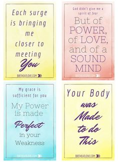 Get Your FREE Birth Affirmations Printable to help prepare your mind and spirit for natural labor and childbirth. Stay positive during pregnancy with these printable affirmation cards.