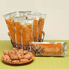 Smart for Life 7-Day Meal Replacement Diet Cookies Oatmeal Raisin - 1 ea