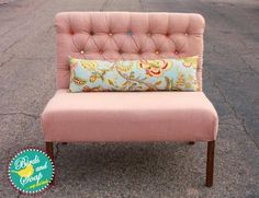 Build an Upholstered Settee. Would be great for right by the door to sit and take off your shoes