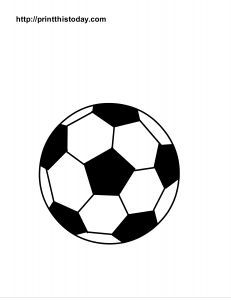 Printable soccer coloring pages soccer ball print color fun soccer ball coloring page publicscrutiny Image collections