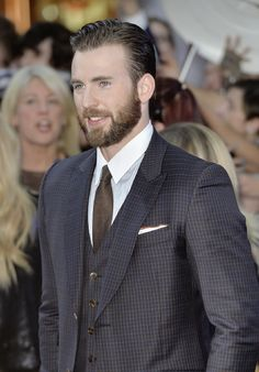 Avengers: Age of Ultron London premiere - Chris Evans