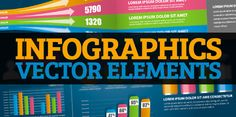 Ultimate Collection of Free Vector Elements For Infographics Design --- oh, buddy!  loving all these elements!