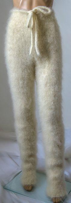 Soft mohair pants