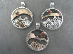 Central Oregon Mountain Pendant