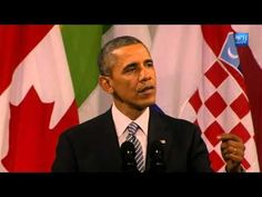 Obama's Full Speech To European Leaders About Russia - YouTube