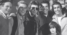 John Lennon's former girlfriend May Pang shared a photo showing the Happy Days gang posing in 1974 with John and his (then) young son, J...
