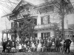 Frederik van Eeden. De kolonisten te Huize Walden in Bussum.