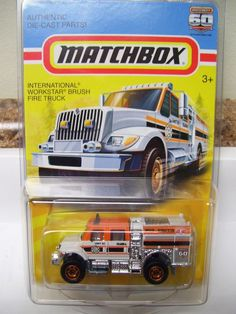 MATCHBOX International Workstar Brush Fire Truck - NEW!!! Buy it Now!