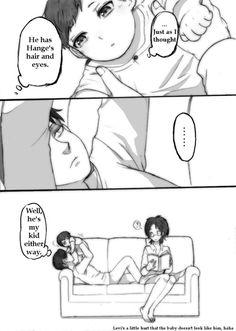 LeviHan Baby Comic AOT / SNK