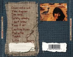 Stitched CD cover artwork