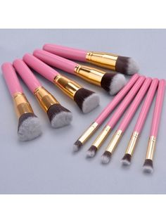 Makeup Brush Set blending Shadow Powder foundation Brushes