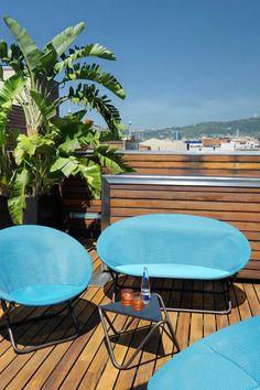 Un salon de jardin léger pour se croire en vacances sur ma terrasse - Plus de photos sur Côté Maison http://petitlien.fr/72ww