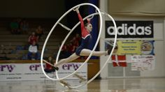 WC 2013  in Wheel Gymnastics  Junior woman Charlotte Speelman 6th Place