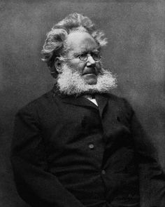 """Henrik Johan Ibsen (1828–1906), was a major 19th-century Norwegian playwright, theatre director, and poet. He is often referred to as """"the father of realism"""" and is one of the founders of Modernism in theatre. His major works include Brand, Peer Gynt, An Enemy of the People, Emperor and Galilean, A Doll's House, Hedda Gabler, Ghosts, The Wild Duck, Rosmersholm, and The Master Builder. He is the most frequently performed dramatist in the world after Shakespeare."""