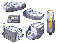 ROBRADY design - Parker Hannifin Fuel Cell Concept Sketches