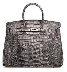 Ainifeel Women's Patent Leather Crocodile Embossed Top Handle Handbags (30cm, Grey) Ainifeel http://www.amazon.com/dp/B018IF8UR8/ref=cm_sw_r_pi_dp_S7Zzwb0EJH9C4