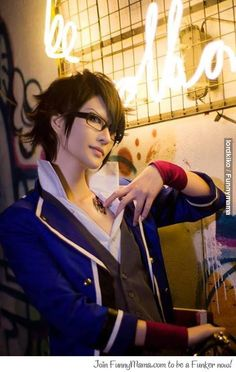 Fushimi Saruhiko | K #cosplay #anime I love this anime and this is a lovely cosplay of fushimi