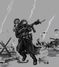 death korps of krieg by kriegsmachine14.deviantart.com on @DeviantArt