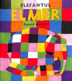 Elefantul Elmer - David McKee; Varsta: 2+; O poveste despre bucuria de a fi diferit, despre prietenie si veslie. O poveste multicolora ilustrata senzational.