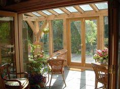 Verande in legno - Veranda dallo stile semplice
