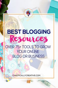 Online Business and Blogging can be overwhelming and confusing. Here's an amazing list of blogging resources and business resources to grow your blog and online business.  via @chaoticallycreative