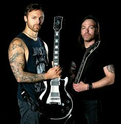 Matt Tuck and Michael Paget~Bullet for My Valentine