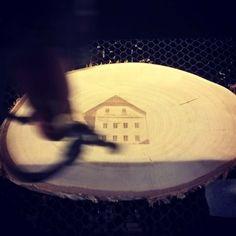 Photo engraving #goodsfromthewoods #drowa #drowashop #woodworking #lasercut #engraving #love #trendy