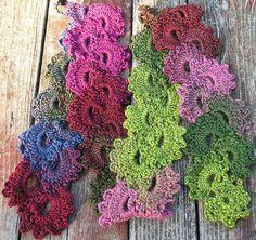 patrón de bufanda de ganchillo gratis populares
