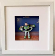 Toy Story Buzz Lightyear Figure 3D Effect Boxed by BenjoCreations