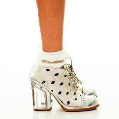 Solestruck glass shoe!!