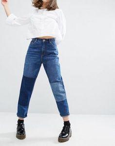 Monki | Monki Patch Denim Jeans