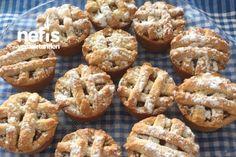 Muffin Kalıbında Elmalı Turta Tarifi nasıl yapılır? bu tarifin resimli anlatımı ve deneyenlerin fotoğrafları burada. Yazar: tuğba yıldız