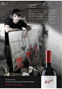 Penfolds Wines print ads