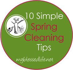 10 Simple Spring Cleaning Tips