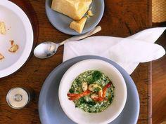 Kräuterrisotto mit Scampi ist ein Rezept mit frischen Zutaten aus der Kategorie Reis. Probieren Sie dieses und weitere Rezepte von EAT SMARTER!