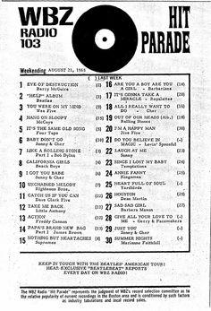 WBZ Boston MA 1965 08 21