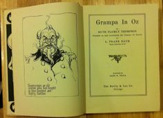 Grampa in Oz First Edition by TheUltimateFind on Etsy, $190.00