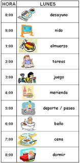 Diario de una mamá... inexperta: Horarios y rutinas, un bien para los niños y.. para los padres?:                                                                                                                                                     More