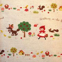 Stitchbird - Little Red Riding Hood fabric