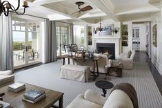 17 Great Living Room Design Ideas in Beach Style
