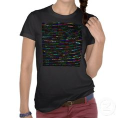 Ava Text Design I Dark Shirt Female $34.75