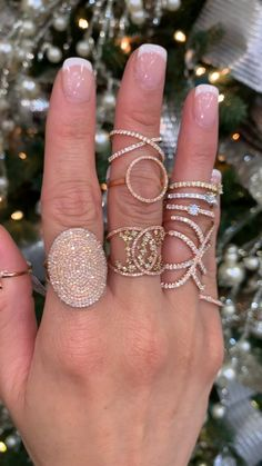 Will you see some Rose Gold Sparkle below your 🎄 this 12 months? Free Transport + Wrapping 🎁 / Gold / Silver Pinecone Round Moissanite and Diamond RingRose Gold Rose Ring Pink Gold Size And Cute Jewelry, Jewelry Box, Jewelry Accessories, Jewelry Design, Unique Jewelry, Pandora Jewelry, Jewelry Bracelets, Prom Jewelry, Jewelry Clasps
