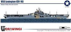 uss lexington cv-16 - Google Search Essex Class, Uss Lexington, Rear Admiral, Aircraft Carrier, Military, Google Search, Military Man, Army