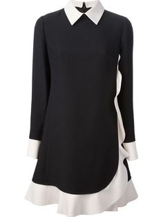 Shop Valentino frilled shirt dress in L'Espionne from the world's best independent boutiques at farfetch.com. Over 1000 designers from 60 boutiques in one website.