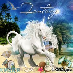 Unicorn Beach Fantasy