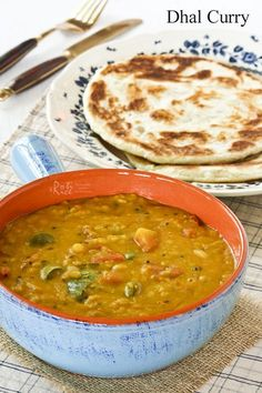 This Dhal Curry is a very mild and nutritious curry made up mainly of lentils, tomatoes, chilies, and spices. Heat level can be adjusted according to taste. | Food to gladden the heart at http://RotiNRice.com