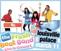 Win Tickets to see the FRESH BEAT BAND at the Louisville Palace!
